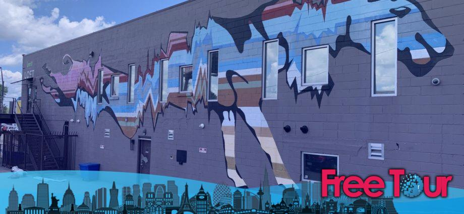Al este de Nashville: Comidas & Arte Callejero Tour a Pie