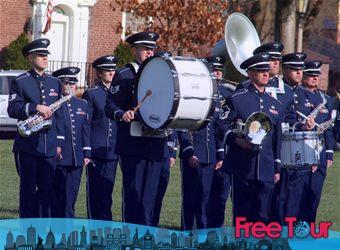 Banda de la Fuerza Aérea de los EE.UU.: Actuaciones de primavera en D.C.