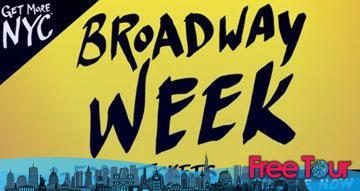 broadwayweek - Explicación de los mejores horarios para ir a la ciudad de Nueva York