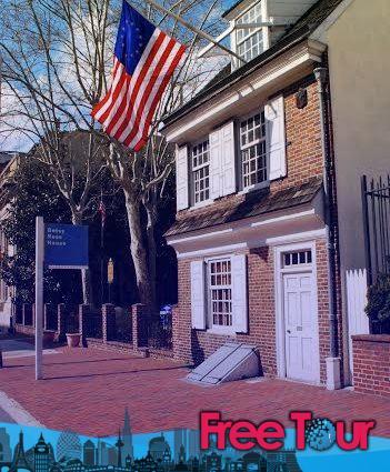 Casa Betsy Ross   Planifique su visita