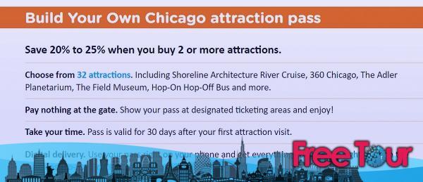 City Pass, Go Card y otros pases de atracción de Chicago