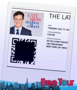 como conseguir entradas para the late show con stephen colbert 2 258x300 - Cómo conseguir entradas para The Late Show con Stephen Colbert