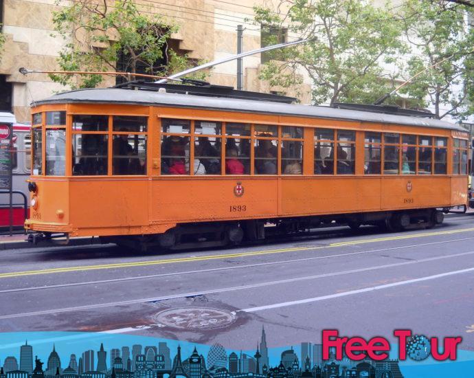 Cómo viajar en el tranvía histórico de San Francisco