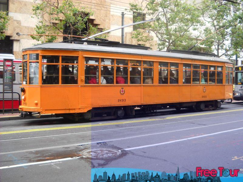 como viajar en el tranvia historico de san francisco - Cómo viajar en el tranvía histórico de San Francisco