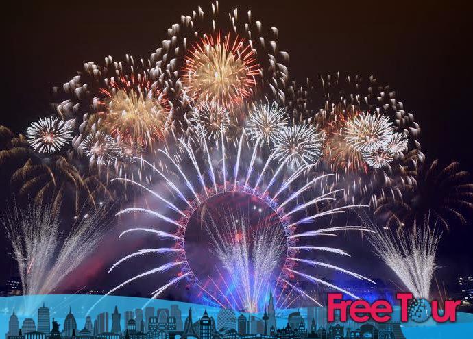 Cosas gratis que hacer en Nochevieja en Londres