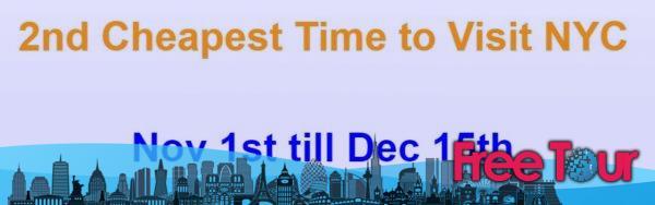 cuando es el momento mas barato para viajar a nueva york 3 - ¿Cuándo es el momento más barato para viajar a Nueva York?