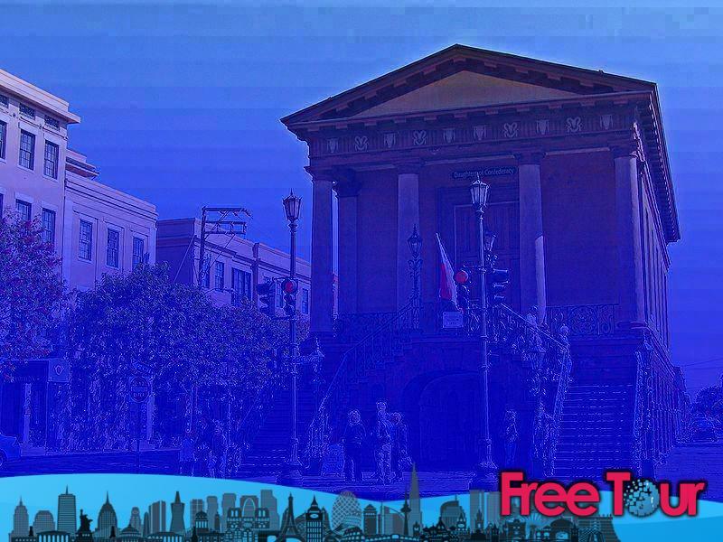 Visitar el histórico mercado de la ciudad de Charleston