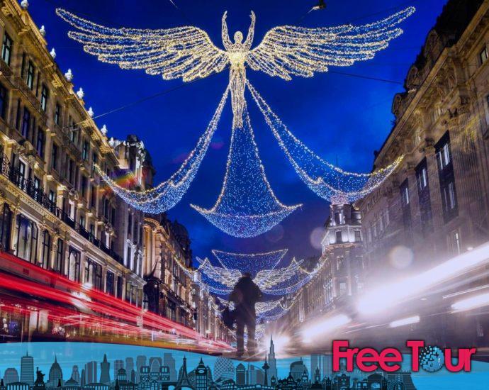 Dónde ver luces y decoraciones navideñas en Londres