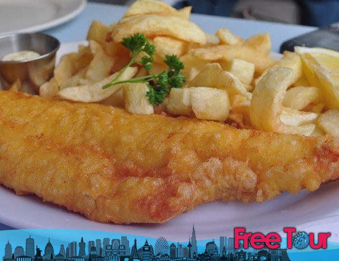 El mejor pescado y papas fritas en Londres