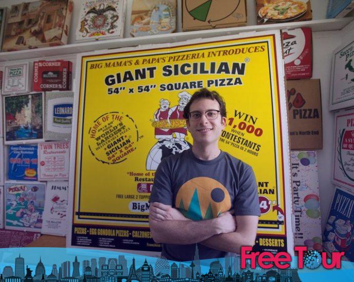 Hablando de pizza neoyorquina con Scott Wiener