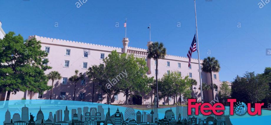 la plaza marion de charleston la ciudadela y francis marion 920x425 - La Plaza Marion de Charleston, la Ciudadela, y Francis Marion