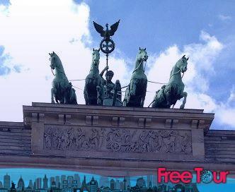 la puerta de brandenburgo en berlin 2 - La Puerta de Brandenburgo en Berlín