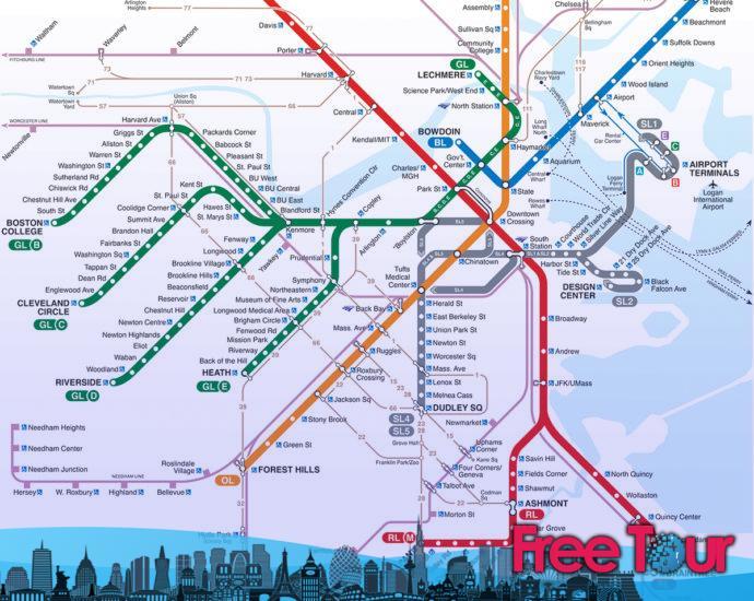 La T: El metro de Boston