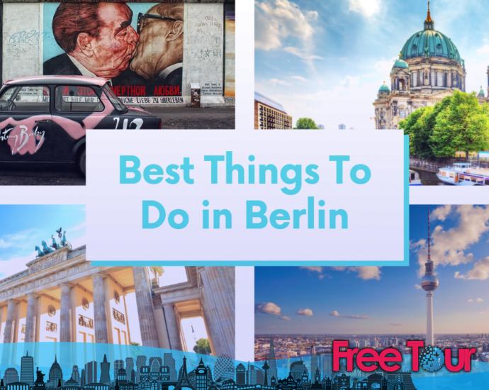 Lo mejor que puede hacer en Berlín