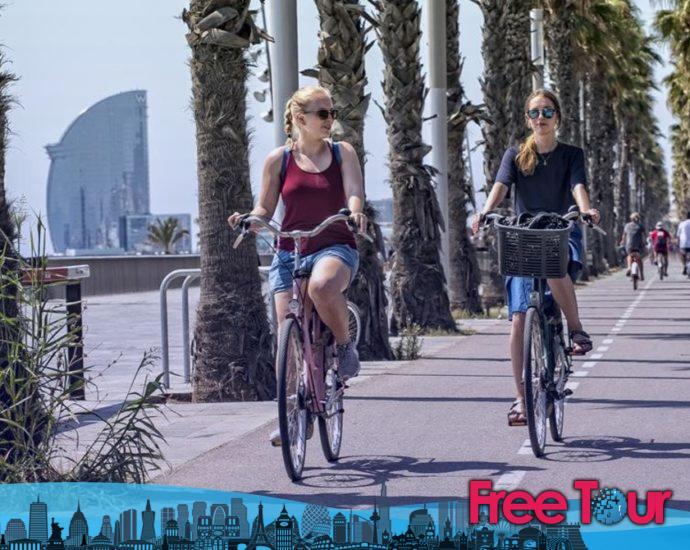 Mejores excursiones en bicicleta en Barcelona