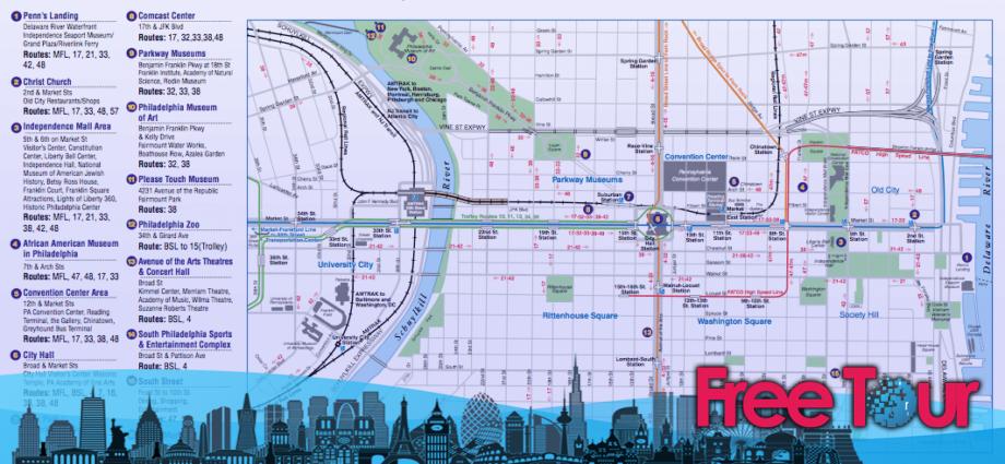 Moverse por Filadelfia: Transporte público en Filadelfia