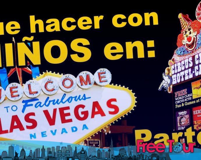 Qué hacer con los niños en Las Vegas
