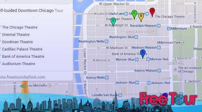 Tour del Distrito de Teatros de Chicago