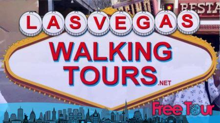 Tours gratuitos a pie en Las Vegas