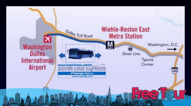 Transporte entre Washington, D.C. y el Aeropuerto de Dulles