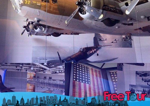 Visita el Museo Nacional de la Segunda Guerra Mundial en Nueva Orleans