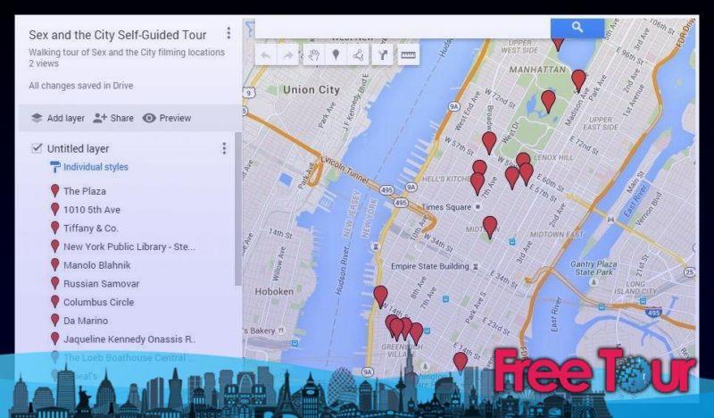 visitas turisticas de sex and the city gratis autoguiadas - Visitas turísticas de Sex and the City (gratis, autoguiadas)